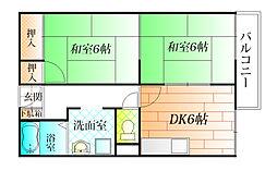 サニーハイム A棟[1階]の間取り