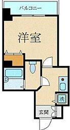 スカイコート三田慶大前[3階]の間取り