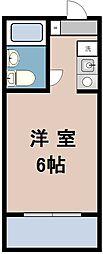 ファインスクエア鴨志田2[4階]の間取り