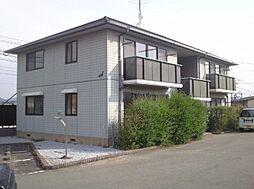 福岡県飯塚市伊川の賃貸アパートの外観