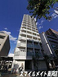 ザ・パーククロス藤沢[13階]の外観