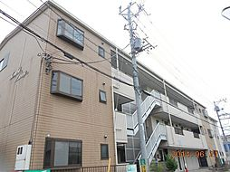 埼玉県草加市長栄1丁目の賃貸マンションの外観