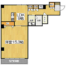 グランレブリー室町六角[2階]の間取り