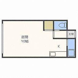 DAIWA南郷II[3階]の間取り