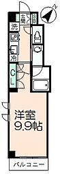 SAKURA イムスタック[3階]の間取り
