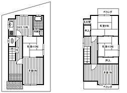 [一戸建] 大阪府富田林市甲田6丁目 の賃貸【/】の外観