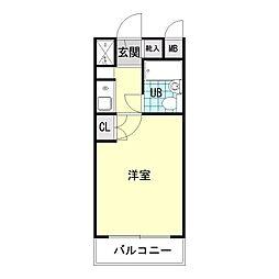 日神パレス三ッ沢公園[2階]の間取り