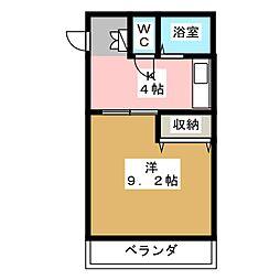 S−PALACEII[2階]の間取り