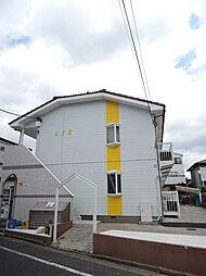 東京都江戸川区中葛西2の賃貸アパートの外観