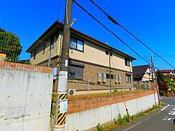 大阪府富田林市高辺台1丁目の賃貸アパートの外観