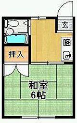 佐賀県神埼市神埼町鶴の賃貸アパートの間取り