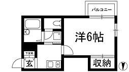メゾン勇[2階]の間取り