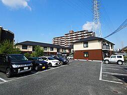 大阪府大阪狭山市東池尻2丁目の賃貸アパートの外観