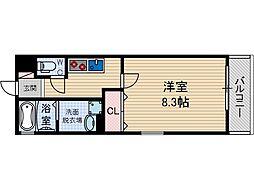 アヴェルーチェ高槻富田町[3階]の間取り
