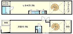 匠空KYOMACHIBORI[1階]の間取り