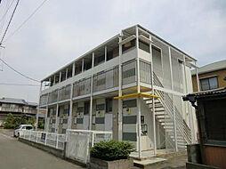 福岡県古賀市花見南2丁目の賃貸アパートの外観
