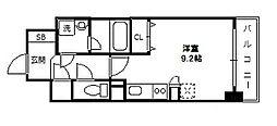 グレンパーク新大阪II[11階]の間取り