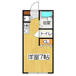メゾン陽生II[2階]の間取り