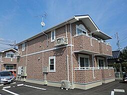 広島県広島市安佐南区西原9丁目の賃貸アパートの外観