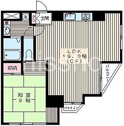 6060-ウィスタリアハウス[3階]の間取り
