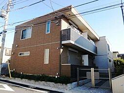 東京都世田谷区粕谷4の賃貸アパートの外観