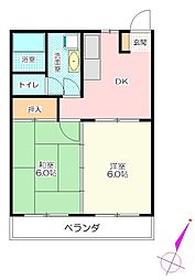 新成マンション[1階]の間取り