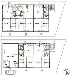鳩ヶ谷マンション[2階]の間取り