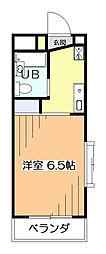 ラフォーレ・ドミ[4階]の間取り