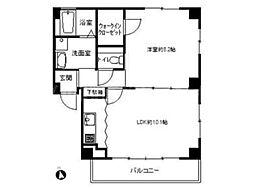 香川県高松市前田東町の賃貸マンションの間取り