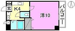 マリベールKANON[201 号室号室]の間取り