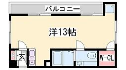 シンセリテ[2階]の間取り