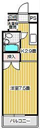 Stream Style310 B[207号室号室]の間取り