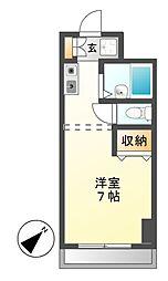 ドミールS・K[2階]の間取り