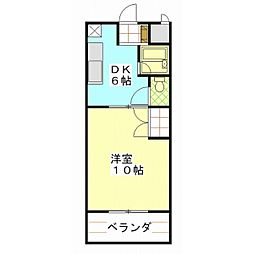 COSMO439[2階]の間取り