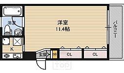 ヒーズハウス2[3階]の間取り