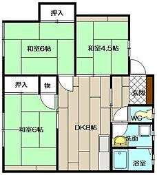 松下アパート[101号室]の間取り