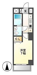 CASA八番館[6階]の間取り