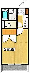 インペリアル湘南I[1階]の間取り