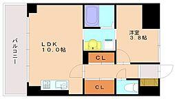 ソフィアBLD[4階]の間取り