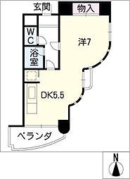 STクラウン[3階]の間取り