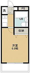 煉瓦館116[305号室号室]の間取り