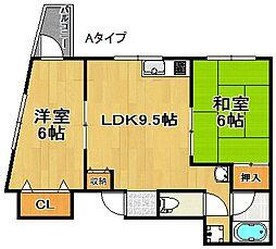 ハイアットマンションアヴィ[7階]の間取り