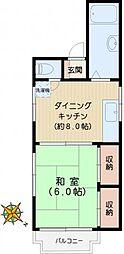 富士峰ビル[3階]の間取り