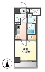 キャナルスクエア[8階]の間取り