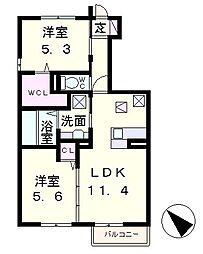 シエロ1[1階]の間取り