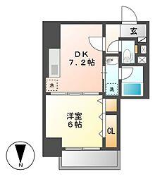 笹島アイサンメゾン[7階]の間取り