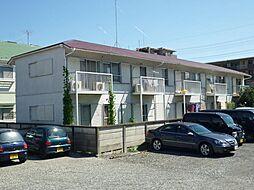 東京都福生市本町の賃貸アパートの外観