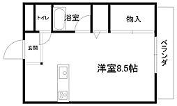 プチメゾンFuji[202号室]の間取り