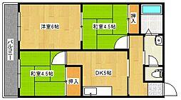 丸吉マンション[1階]の間取り