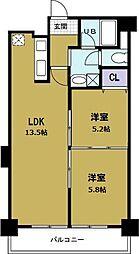 第8柴田ビル[8階]の間取り